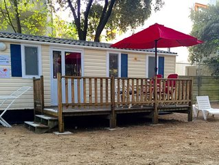 Luxe chalets direct aan ZEE - Camping Mare e Pineta - Comacchio - Lido di Spina