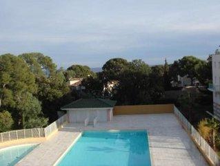 Appartement 75m2 dans résidence de standing avec vue mer et piscine privée
