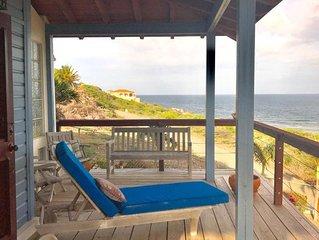 Fabulous 3 bedroom villa overlooking Caribbean Sea in Turtle Beach