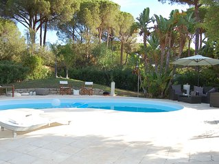 Amazing  Villa with private swimming pool near the sea. Codice IUN P1672