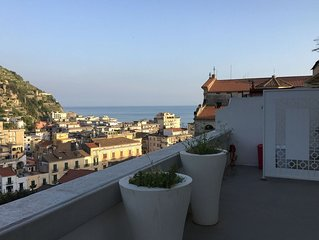 Modern apartment with stunning views, situated on the fascinating Amalfi coast