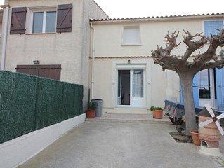Maison pour 6 personnes avec terrasse près du Palais de la Mer Réf. 2897AG