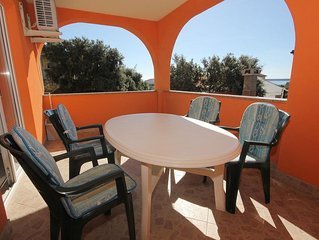 One bedroom apartment with terrace Mandre (Pag) (A-9354-a)
