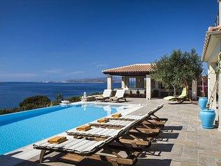 Armorel Platinum, large luxury villa with amazing sea views!