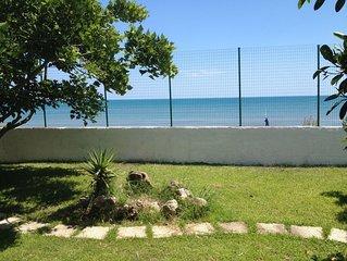 Meravigliosa villa sul mare con accesso diretto sulla spiaggia