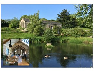 Luxurious self catering Barn set in Idylic South Hams countryside near Coast.