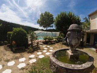 ideal vacances appartement spacieux calme sur terrasse jardin
