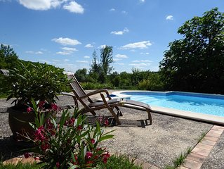 Sous les Arbres - private pool, great views, relax, unwind, get closer to nature