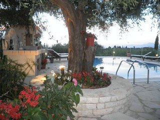Villa with Private Pool and Sea Views in North East of Corfu