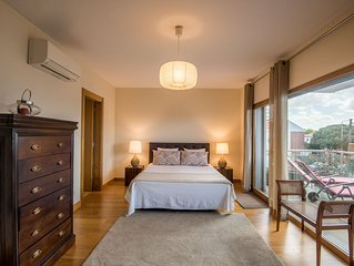 Luxurious Confortable Apart. 5/7 pax, 2 bedrooms/2 WC Balconies Don´t need car