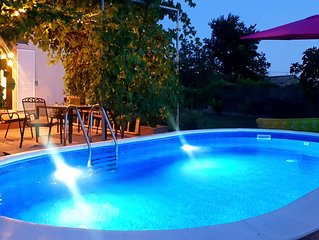 *NEW*Summer villa with private pool in Solin, 6 km  from Split city center