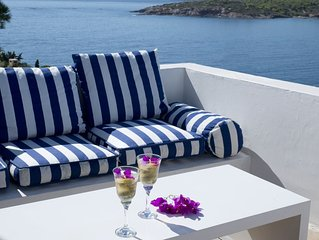 Hidesign Athens Villa In Sounio Near Athens, Peaceful Location