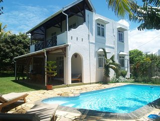 Cosy villa in Mauritius with pool and garden