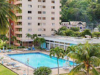 1br Apartment - WiFi/Beach/Pool/Security/Cable