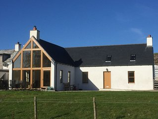 House 300 Metres From Achmelvich Beach located on the North Coast 500.