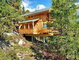 Een prachtig ****Chalet met IR sauna en Jacuzzi op de Turracher Hohe