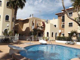Duplex with Communal Pool