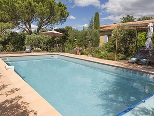 Provence House, Large Garden, Pool, Views, Walk To Centre Of Medieval