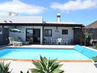 Villa Toledo In Playa Burgado, Playa Blanca, Lanzarote