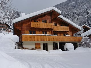 Family Ski Chalet in the stunning Alps
