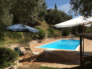 Villa con piscina in posizione idilliaca a soli 45 minuti da Roma