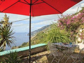 Il Glicine: Capri und das türkisblaue Meer vor Augen, nur 600 m vom Strand