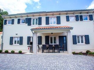 Luxus-Wellness-Villa in einer ruhigen Gegend von Nordern Istrien