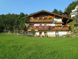 Appartement mit Garten und herrlicher Aussicht auf die Zillertaler Bergwelt