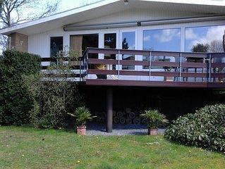 Gemütliches Ferienhaus im Ferienpark Schotsman mit Meerblick