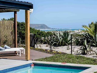 Willow Beach House right on the sand dunes of Noordhoek's Long Beach