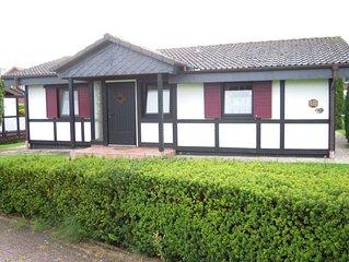 Familienfreundliches Haus im Ferienpark 'Am Meer'