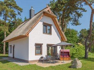 Ferienhaus Bellis perennis, gehobene Ausstattung mit WLAN,  Kamin und Anbau