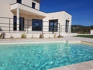 Villa moderne en campagne - Location saisonnière Pernes-les-Fontaines -