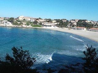 Maison récente 4 pièces  dans résidence privée à 150 ms de la plage, au calme