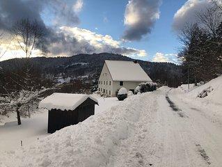 Ferme Vosgienne avec terrain de 2000m2  et terrasse