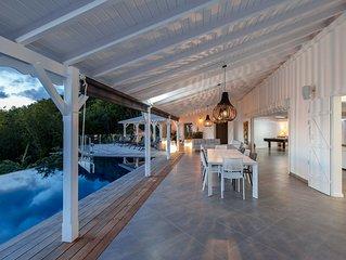 Magnifique villa de standing 8 personnes avec vue sur les Ilets Pigeon
