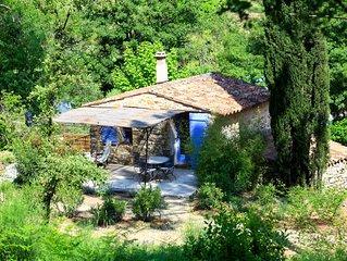 Mazette, petite maison douillette pour 2 personnes en Provence, 4 étoiles
