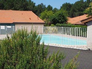 Maison avec piscine proche Biarritz, Hossegor,plage, foret