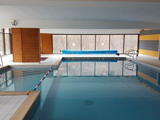 Valloire : Residence a 5 mn des pistes -Piscine-sauna Appartement 8-10 per