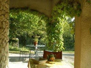 grande maison en pierre,belles prestations,ideale vacances famille calme espace