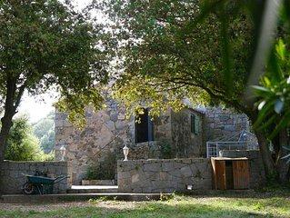La Corse authentique - Piscine - Maison en granit - 3 000 m2 Terrain