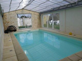 Grande maison a Rochefort (17) de 23 couchages avec Piscine sauna et hammam