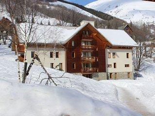Appartement 4/6 p  Piscine/Sauna/Hammam/Parking privé en sous-sol