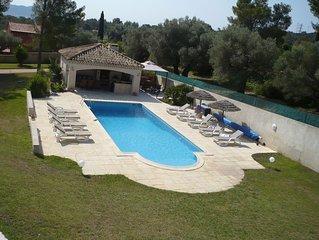 spacieuse villa de 250 m2  pour vacances au soleil