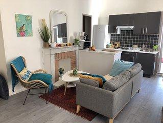 Appartement calme et cosy. Refait a neuf. Hyper centre Bastia