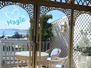 Lotus-Essaouira .com  Vue MER - TERRASSE privée - proche PLAGE