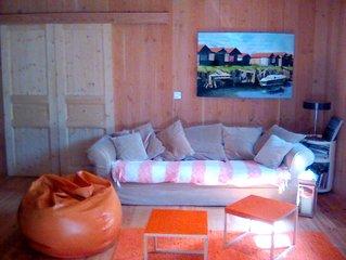 Maison bois tout confort proche de l'océan