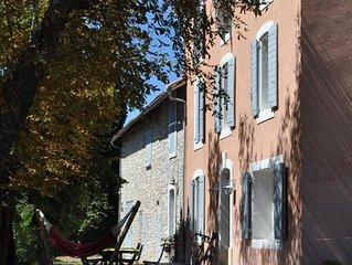 Grande Bastide Provencale classee 4 * (Luberon) - 4 a 12 personnes (descriptif)