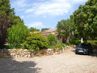 Maison Villa spacieuse au calme, idealement situee entre mer et montagne