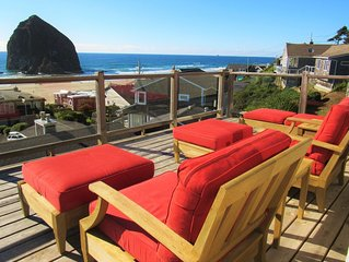 VillaView - AMAZING VIEW OF HAYSTACK ROCK
